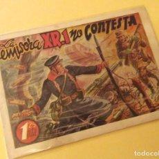 Tebeos: HISTORIETAS GRAFICAS ( AMELLER) . LA EMISORA XR.1 NO CONTESTA. Lote 131875758