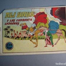 Tebeos: HISTORIETAS GRAFICAS (1942, AMELLER) VARIANTE 50 · 1942 · ALÍ BABÁ Y LOS CUARENTA LADRONES. Lote 136751702