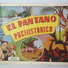 Tebeos: EL PANTANO PREHISTORICO - AVENTURAS DE LEON DAN Y ALICIA, Nº 7. Lote 138986706