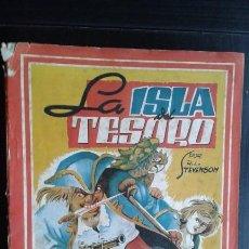 Tebeos: TEBEO / CÓMIC / NOVELA LA ISLA DEL TESORO AMELLER EDITOR N 11 ORIGINAL 1945. Lote 139736690