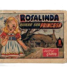 Tebeos: ROSALINDA QUIERE SER PRINCESA.CUENTOS AMELLER Nº 64. ORIGINAL.. Lote 140517078