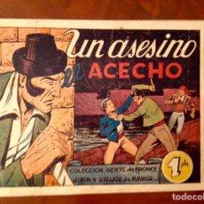 Tebeos: AMELLER-DIEGO CORRIENTES-UN ASESINO EN ACECHO-NÚMERO 8-MUY BUEN ESTADO. Lote 143755494