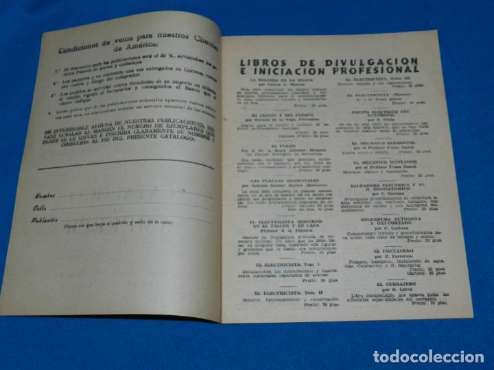 Tebeos: (M1) CATALOGO AMELLER EDITOR, BARCELONA AÑOS 40 , 16 PAG, BUEN ESTADO - Foto 2 - 150001878