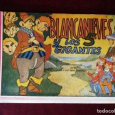 Tebeos: BLANCANIEVES Y LOS 5 GIGANTES , EDICIONES AMELLER , 1945 , Nº2 . MUY DIFICIL. . Lote 155822526