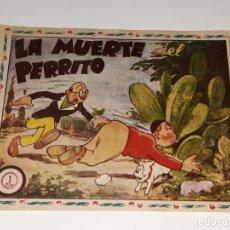 Tebeos: ANTIGUO COMIC AVENTURAS DE DON TRIQUI Nº 72 - LA MUERTE DEL PERRITO - EDITORIAL AMELLER AÑOS 40 / 50. Lote 155930330