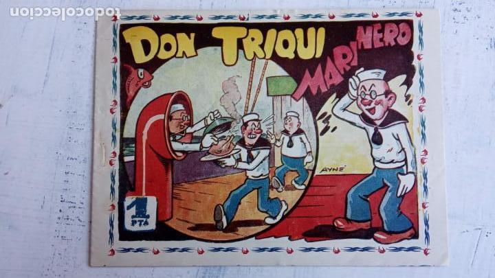 DON TRIQUI Nº 3 - DON TRIQUI MARINERO - MUY NUEVO , ORIGINAL AMELLER (Tebeos y Comics - Ameller)