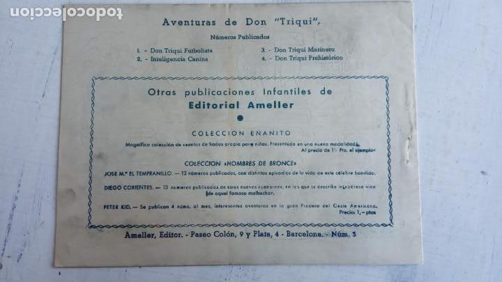 Tebeos: DON TRIQUI Nº 3 - DON TRIQUI MARINERO - MUY NUEVO , ORIGINAL AMELLER - Foto 8 - 156552962