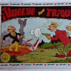 Tebeos: DON TRIQUI Nº 75 ORIGINAL., AMELLER . Lote 156553134