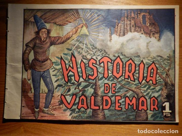 TEBEO - COMIC - HISTORIA DE VALDEMAR - CUENTO DE ANDERSEN Nº 60 - AMELLER - (Tebeos y Comics - Ameller)