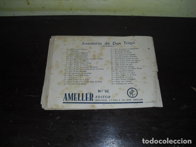 Tebeos: AVENTURAS DE DON TRIQUI - Nº 35 - Foto 4 - 171223827