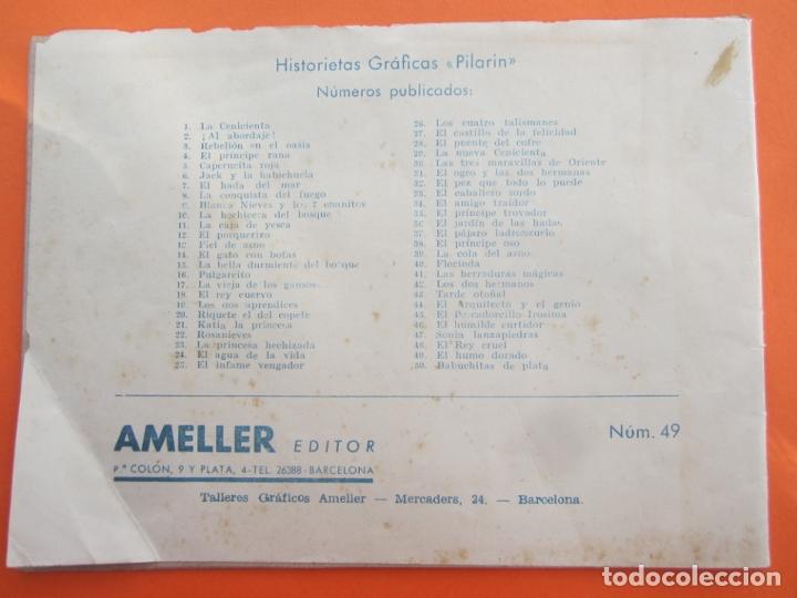 Tebeos: historias graficas pilarin , numero 49 , el humo dorado , ameller - Foto 3 - 177659087