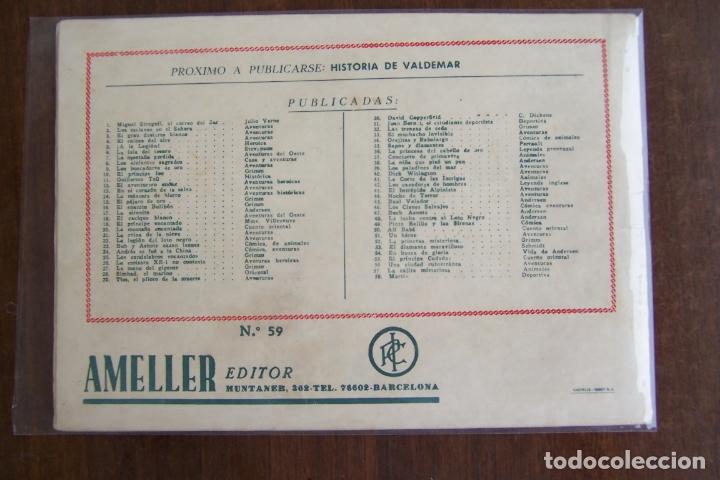 Tebeos: ameller, monográficos nº 59 osvaldo y vanina - Foto 2 - 177677158