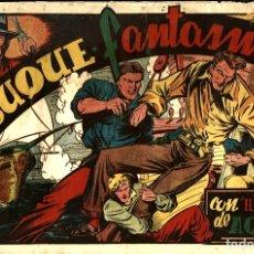 Tebeos: EL HALCÓN DE ACERO-5: EL BUQUE FANTASMA (AMELLER, 1945) DE PEDRO ALFÉREZ. Lote 177860430