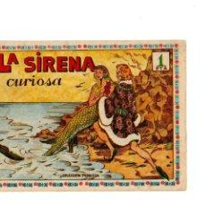 Tebeos: PRINCESITA COLOR Nº 28. LA SIRENA CURIOSA.(ÚLTIMO DE LA COLEC.) AMELLER,1950. ORIGINAL.EXCELENTE.. Lote 177959838