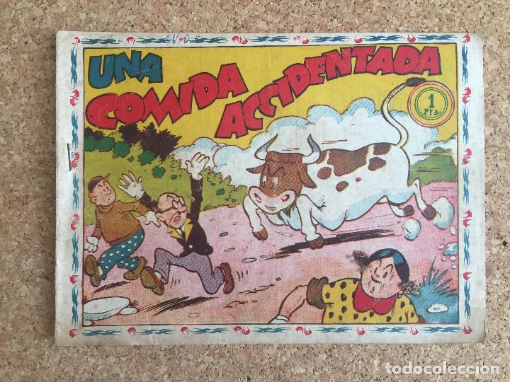 DON TRIQUI. UNA COMIDA ACCIDENTADA - AMELLER, ORIGINAL - MUY DIFICIL - GCH (Tebeos y Comics - Ameller)