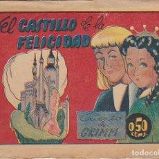 Giornalini: COLECCION HITORIETAS GRAFICAS PILARIN EL CASTILO DE LA FELICIDAD ILUSTRADO POR BOMBON. Lote 180862997
