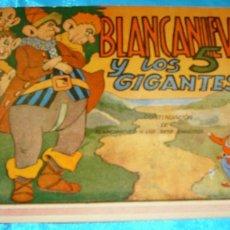 Tebeos: BLANCANIEVES Y LOS 5 GIGANTES, ORIGINAL Nº 2 AMELLER AÑOS 40 - LEER. Lote 182040878