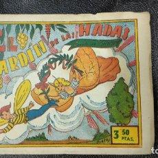 Giornalini: EL JARDIN DE LAS HADAS RETAPADO ORIGINAL . Lote 182208900