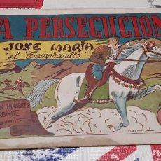 Tebeos: JOSÉ MARÍA EL TEMPRANILLO - AMELLER / NÚMERO 6. Lote 188798255