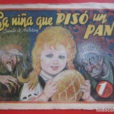 Tebeos: TEBEO LA NIÑA QUE PISO UN PAN CUENTO DE ANDERSEN AMELLER. Lote 191603361