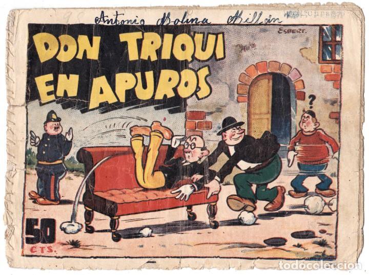 DON TRIQUI EN APUROS ORIGINAL . 50 CTS Nº 98 (Tebeos y Comics - Ameller)