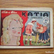 BDs: KATIA LA PRINCESA (CUENTO DE GRIMM) (HISTORIETAS GRÁFICAS PILARÍN Nº 21) AMELLER. Lote 203259962