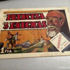 Tebeos: LA PRINCESA DE LOS 3 ENIGMAS / AMELLER ORIGINAL Nº 78. Lote 205243440