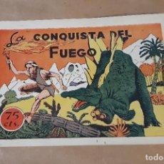 Giornalini: HISTORIETAS GRÁFICAS PILARÍN - AMELLER / Nº 8 (LA CONQUISTA DEL FUEGO). Lote 210195232