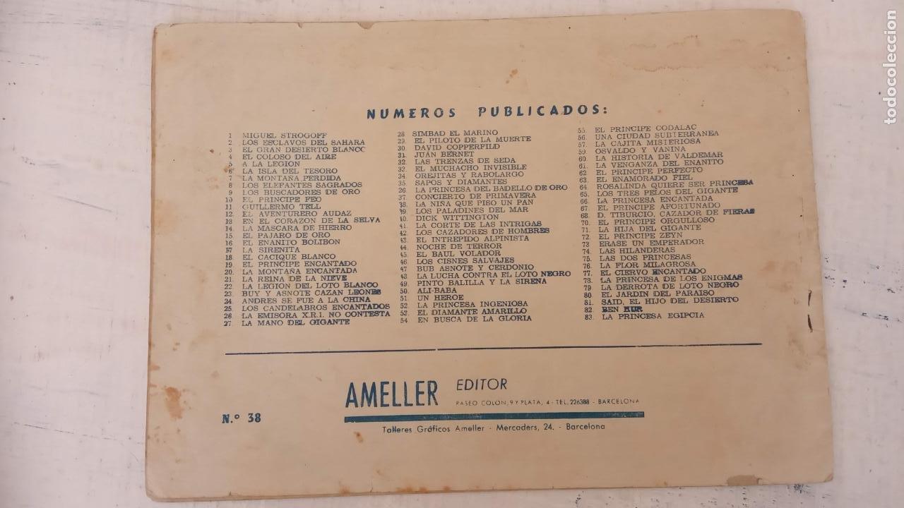 Tebeos: LA NIÑA QUE PISÓ UN PAN - CUENTO DE ANDERSEN - Nº 38 MONOGRÁFICO AMELLER AÑO 1942 ORIGINAL - Foto 2 - 212272578