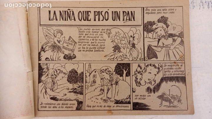 Tebeos: LA NIÑA QUE PISÓ UN PAN - CUENTO DE ANDERSEN - Nº 38 MONOGRÁFICO AMELLER AÑO 1942 ORIGINAL - Foto 4 - 212272578