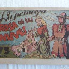 Giornalini: COLECCIÓN PRINCESITA N. 63 - LA PRINCESA ROSA DE LAS NIEVES. Lote 221136046
