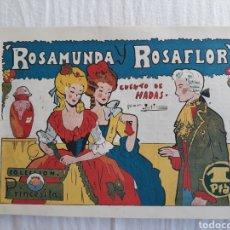 Tebeos: COLECCIÓN PRINCESITA N. 22 - ROSAMUNDA Y ROSAFLOR. Lote 221157677