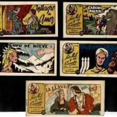 Livros de Banda Desenhada: LOS MIL Y UN CUENTOS (AMELLER AÑOS 40) LOTE DE 5 NÚMEROS: 10-98-102-264 Y 266. Lote 221491908