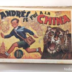 Tebeos: ANDRÉS SE FUE A LA CHITA. AMELLER, 1941. PORTADA DE VICTOR AGUADO. Lote 225044825