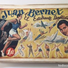 BDs: JUAN BERNET, EL ESTUDIANTE DEPORTISTA. AMELLER, 1941. PORTADA DE VICTOR AGUADO. Lote 225045070