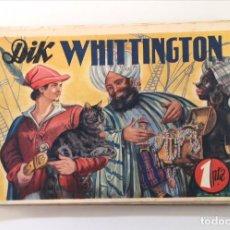 BDs: DIK WHATTINGTON. AMELLER, 1941. PORTADA DE VÍCTOR AGUADO. Lote 225045962