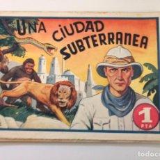 Tebeos: LA CIUDAD SUBTERRÁNEA. AMELLER, 1941. PORTADA DE AYNÉ. Lote 225047525
