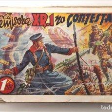 BDs: LA EMISORA XR.1 NO CONTESTA. AMELLER, 1941. PORTADA DE VÍCTOR AGUADO. Lote 225047921