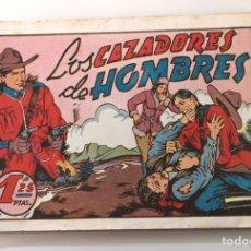 BDs: LOS CAZADORES DE HOMBRES. AMELLER, 1941. PORTADA DE ELÍAS. Lote 225048187