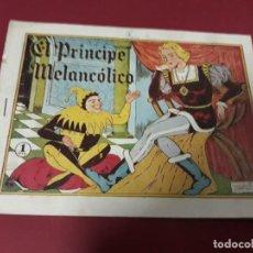 Tebeos: CUENTO DE HADAS ( EL PRÍNCIPE MELANCÓLICO ) MARIA PASCUAL AMELLER 1945. Lote 230262080
