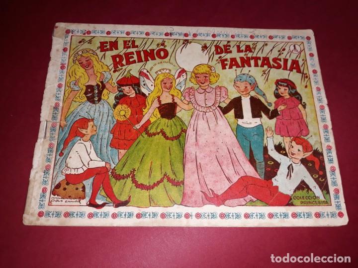 CUENTO DE HADAS ( EN EL REINO DE LA FANTASIA ) MARIA PASCUAL AMELLER 1951 (Tebeos y Comics - Ameller)
