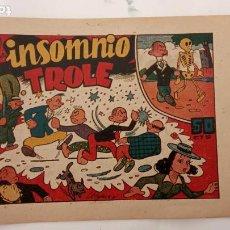 Tebeos: DON TROLE ORIGINAL Nº 1 - EDI. AMELLER 4-8-1948. Lote 234591880