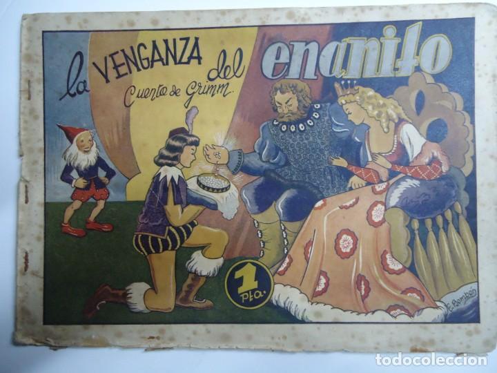 LA VENGANZA DEL ENANITO ILUSTRADO POR BOMBON AMELLER AÑOS 40 COLECCION CUENTOS AMELLER MIDE 18 X 25 (Tebeos y Comics - Ameller)