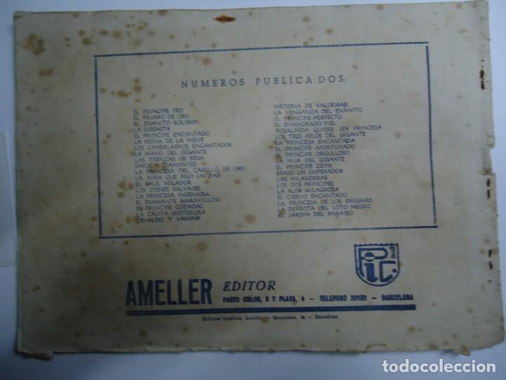 Tebeos: LA VENGANZA DEL ENANITO ILUSTRADO POR BOMBON AMELLER AÑOS 40 COLECCION CUENTOS AMELLER MIDE 18 X 25 - Foto 5 - 238583440