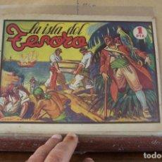 Tebeos: AMELLER,- MONOGRÁFICOS Nº 6, LA ISLA DEL TESORO.. Lote 240073630