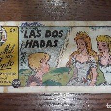 Tebeos: LOS MIL Y UN CUENTO AMELLER EDITOR Nº 201 LAS DOS HADAS. Lote 240911345