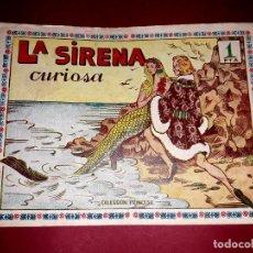 Tebeos: CUENTO DE HADAS ( LA SIRENA CURIOSA ) AMELLER 1951. Lote 254218960