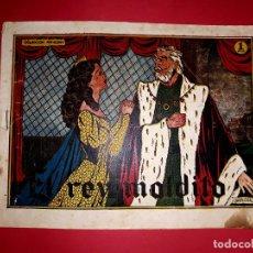Tebeos: CUENTO DE HADAS ( EL REY MALDITO ) AMELLER 1945. Lote 260565460