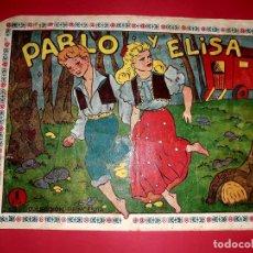 Tebeos: CUENTO DE HADAS ( PABLO Y ELISA ) AMELLER 1951. Lote 260567975