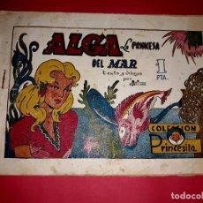 Tebeos: CUENTO DE HADAS ALGA LA PRINCESA DEL MAR AMELLER 1945. Lote 261909075